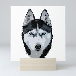 Siberian Husky Mini Art Print
