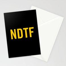 Not DTF Stationery Cards