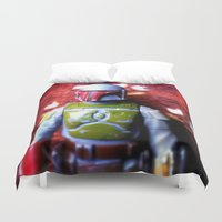 boba fett Duvet Covers featuring Boba Fett by mchlsrr