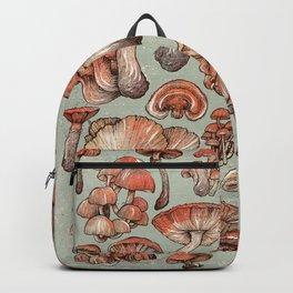 A Series of Mushrooms Backpack