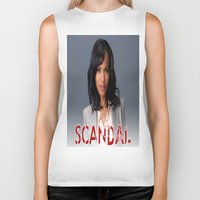 scandal Biker Tanks featuring SCANDAL by I Love Decor
