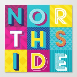 Northside Canvas Print