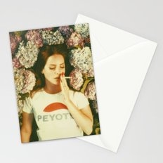 Flowers & Cigarettes iPhone Design Stationery Cards
