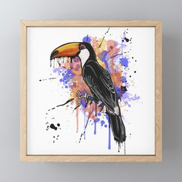 Prince- Toco Toucan Framed Mini Art Print
