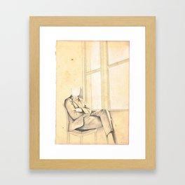 The Mourning Light Framed Art Print