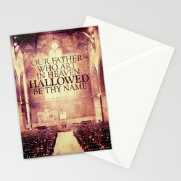 Hallowed be Thy Name Stationery Cards