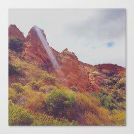 Molded Stone Canvas Print