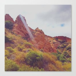 Molded Stone Canvas Print
