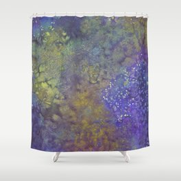 Abstract Watercolor #3 Shower Curtain