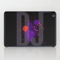 springsteen iPad Cases featuring Art DJ by Sitchko Igor