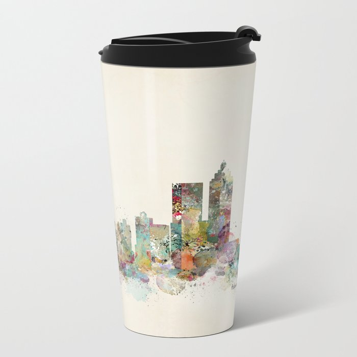 Atlanta georgia skyline Metal Travel Mug