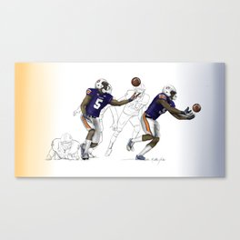"2013 AU vs. UGA ""Immaculate Deflection"" Canvas Print"