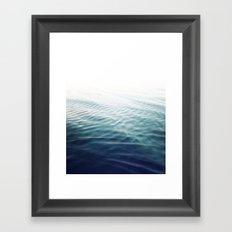 Pure Onde Framed Art Print
