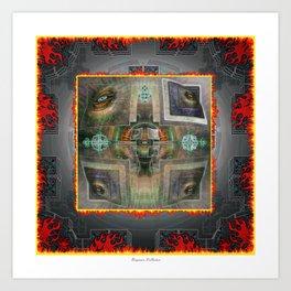 DMT Type III Art Print