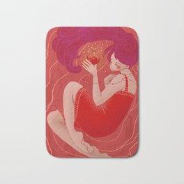 Red Dream Bath Mat