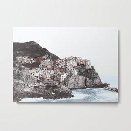 Old Town on the Sea Metal Print