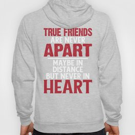 True Friends Are Never Apart Hoody