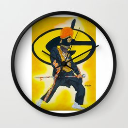 Grambling State Uni Wall Clock