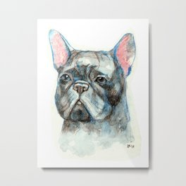 French bulldog Metal Print