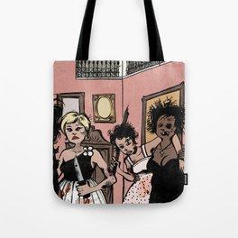 Putas rebeldes Tote Bag