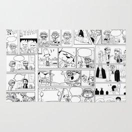 Evacomics Collage 2013 Rug