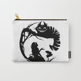 Alice and Cheshire Cat Carry-All Pouch