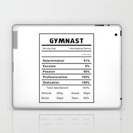 Gymnast Nutrition Ingredients Laptop & iPad Skin