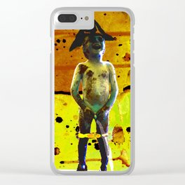 LAUGHTER Clear iPhone Case