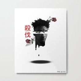 21 savage glitch art Metal Print