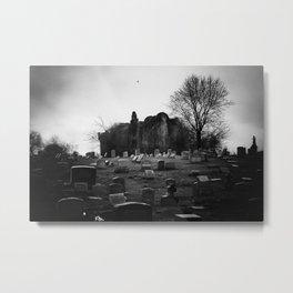 Abandoned Silence Metal Print