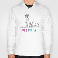 potter Hoodies featuring Hari Potter by tantra
