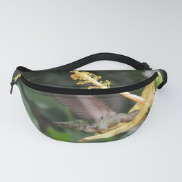Hibiscus and Visitor Fanny Pack