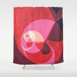 """North (""""Elementals"""" series) Shower Curtain"""