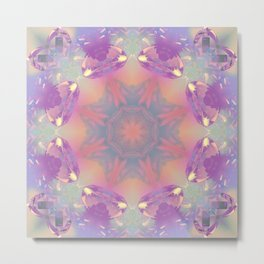 Art Excellence Mandala Abstract Design Metal Print