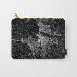 portland map Carry-All Pouch
