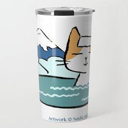 Traveling Kitty Travel Mug