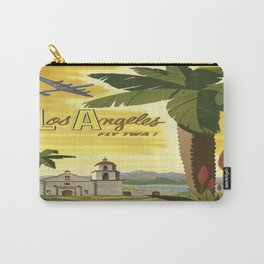 Vintage poster - Los Angeles Carry-All Pouch