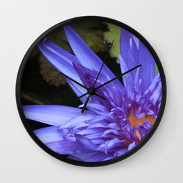 Tropical Waterlily by Teresa Thompson Wall Clock