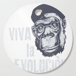 Evolution monkey - Che Cutting Board