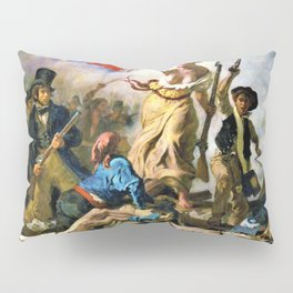 Liberty Leading The People - Digital Remastered Edition Pillow Sham