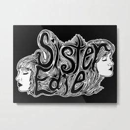 Sister Edie (dreamscape) Metal Print