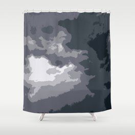 Daylight Storm Shower Curtain