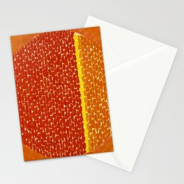 Snoopy sees Earth Wrapped in Sunset African American Masterpiece by Alma Thomas Stationery Cards