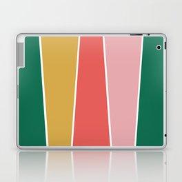 Summer Garden Color Block Laptop & iPad Skin