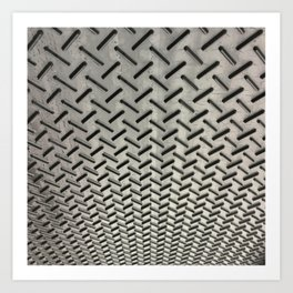 Ceiling Carpet. Fashion Textures Art Print