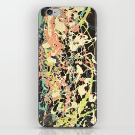 Synthesis, Acrylic and Wood Stain on Wood iPhone Skin