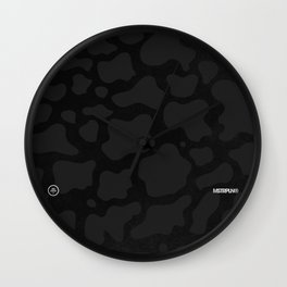 Lunar Camo Wall Clock
