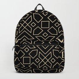 Islamic-African Geometric Pattern Backpack