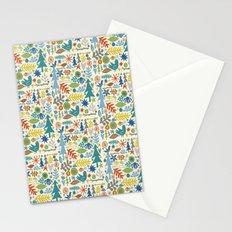 folk forest Stationery Cards