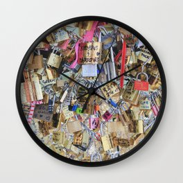 Pont des Arts Wall Clock